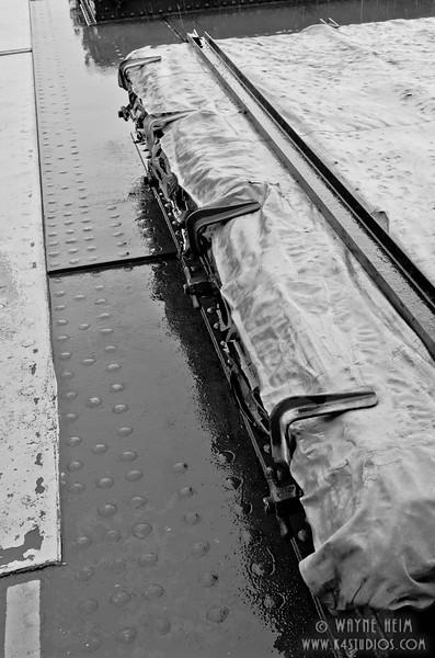 Deck -- Black & White Photography by Wayne Heim