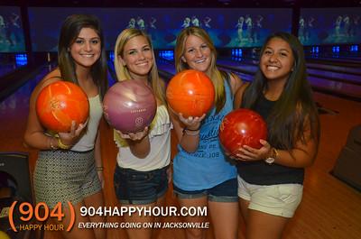 Latitude 30 - $1 bowling night - 7.20.14