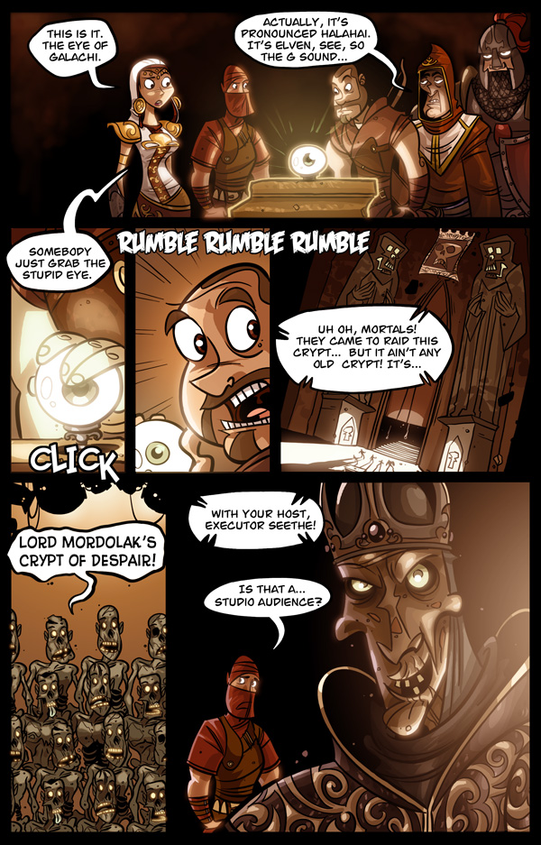 Dark Messiah of Might & Magic Page 1