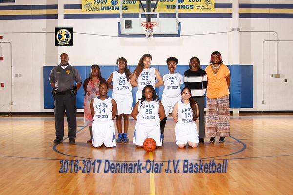 2016-2017 Girl Basketball JV