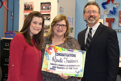 Hardeman Elementary's 2019 Campus Teacher of the Year Announcement