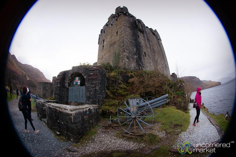 Eilean Donan Castle in Fisheye - Scotland