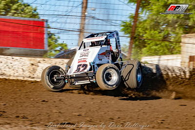 Grandview Speedway - USAC - 6/14/18 - David Dellinger