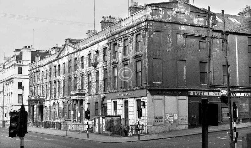 George Square and North Frederick St.  
