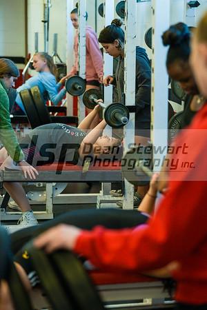 Vero Beach High Girls Weight Lifting vs St Edwards 11-28-18