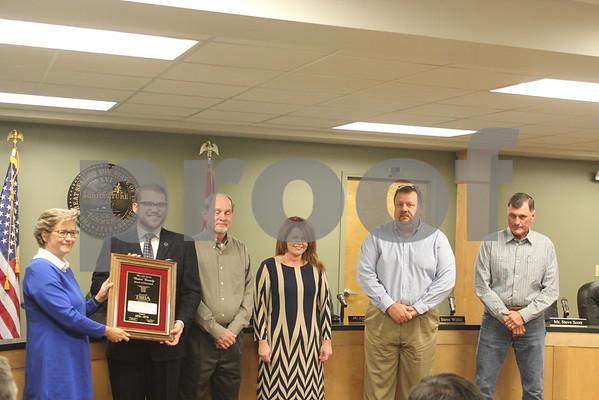 Panel Receives Board of Distinction Award - October 2016