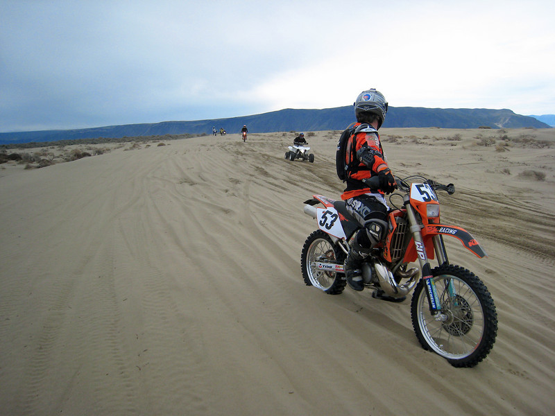 At the end of one particularly bad sand section
