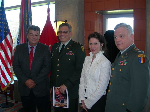Dedication of kosciuszko USMA 2008