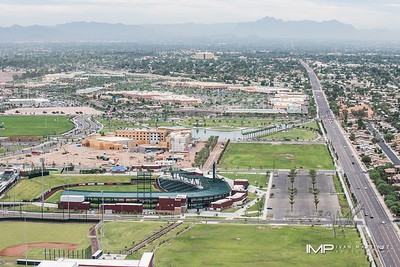 Aerial Photos  and Downtown Mesa