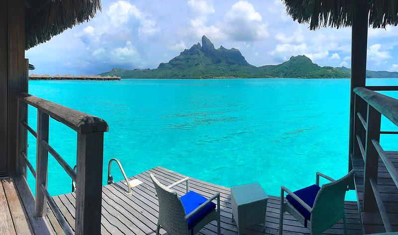 Just can't get enough of this slice of heaven! - St. Regis Resort - Bora Bora