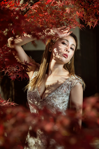 Pre-wedding-小葵-日本楓葉