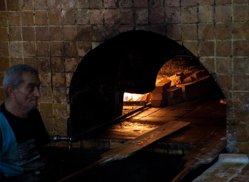 Great Arab bakery in Jaffa.