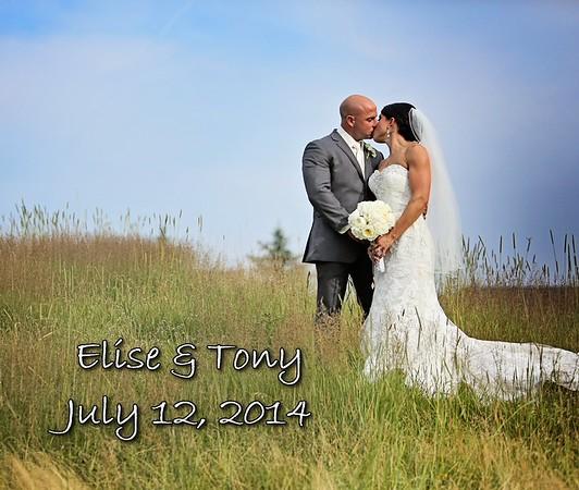 Elise & Tony 13x11 Wedding Album