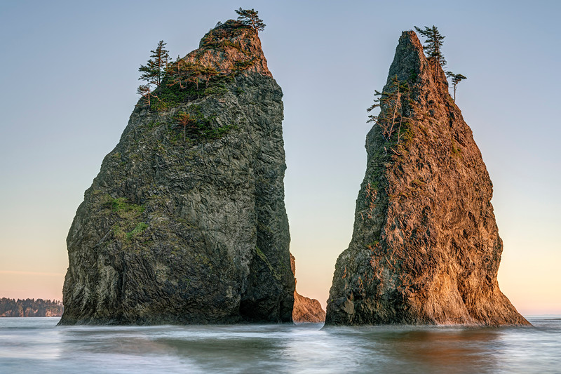 Seastacks at Rialto Beach