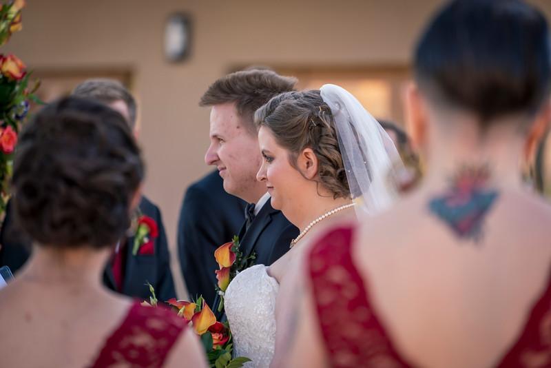 Sandia Hotel Casino New Mexico October Wedding Ceremony C&C-29.jpg