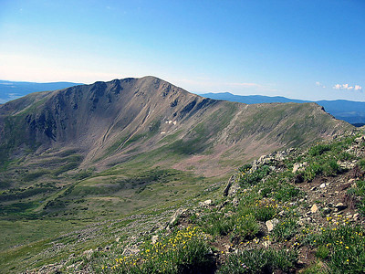 New Mexico highpoint: Wheeler Peak hike: July 12, 2007