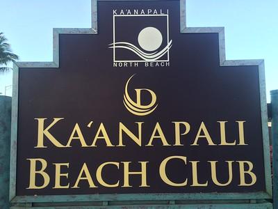 DRI Ka'anapali Beach Club March 2015