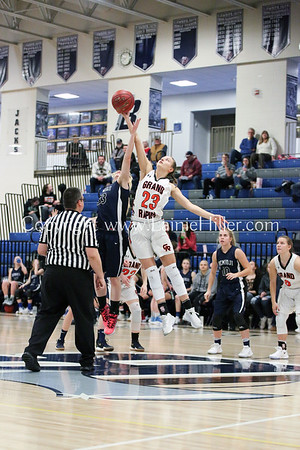 BHS GIRLS' VARSITY vs GRAND RAPIDS, JAN 23, 2018