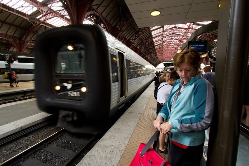 Train to Odense