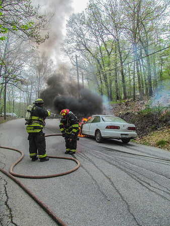 5-10-14 Car Fire, Jack Road