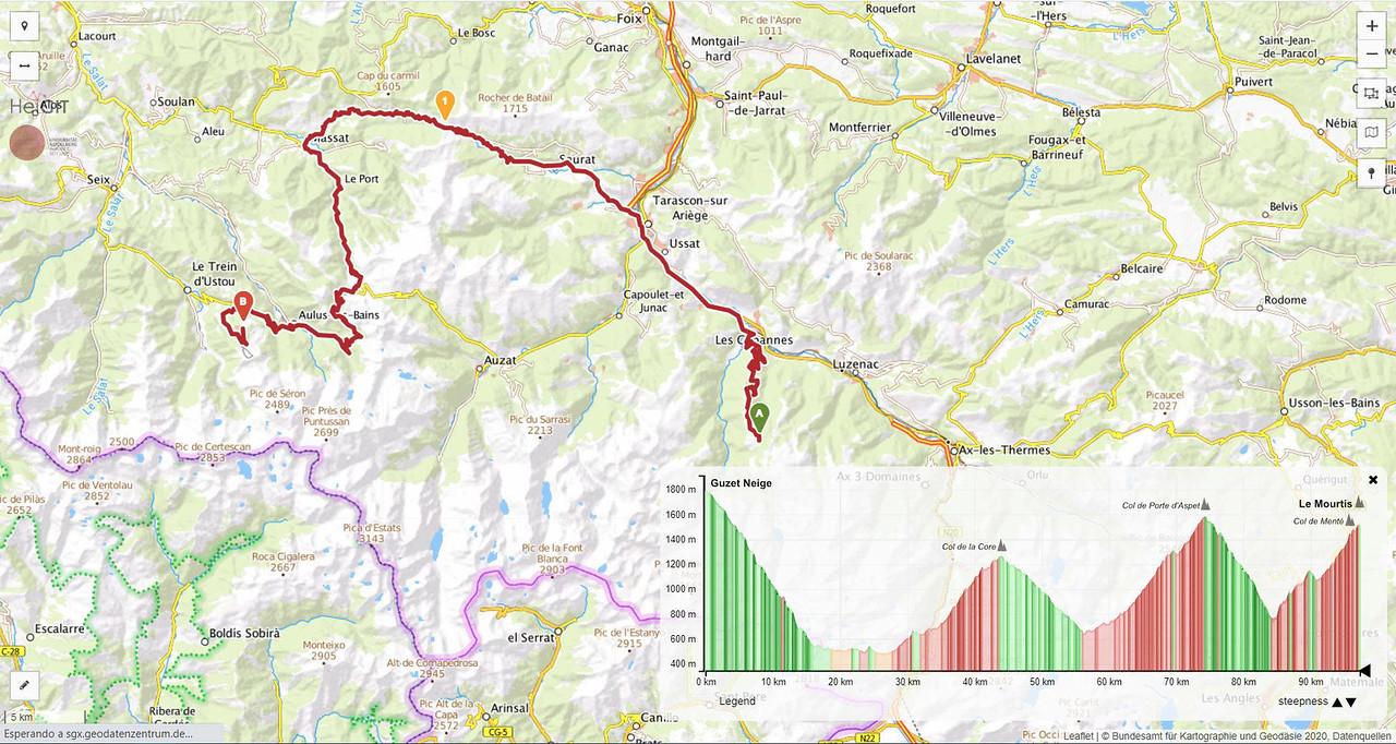 Etapa cuarta siguiendo en Tour de Francia en AC o camper
