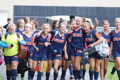 MHS JV Girls Soccer vs North Shore