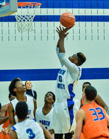 Basketball Varsity Boys vs  Bowie 01-28-14-21