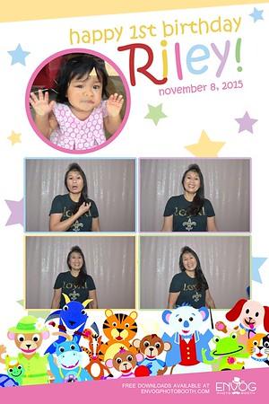 Riley's 1st Birthday (prints)