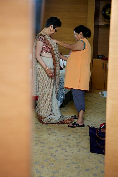 Le Cape Weddings - Indian Wedding - Day 4 - Megan and Karthik Bride Getting Ready 7.jpg