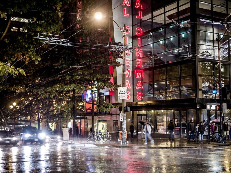 Rain in Seattle