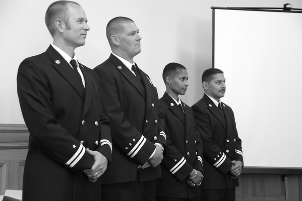 Oakland Fire Department Captain and Lieutenant Promotion on August 7, 2013