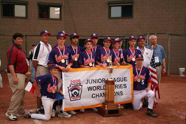 Junior League World Series Team Award Photos