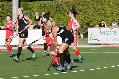 2011_02_12 Black Sticks Women vs Korea, Test III, Whangarei