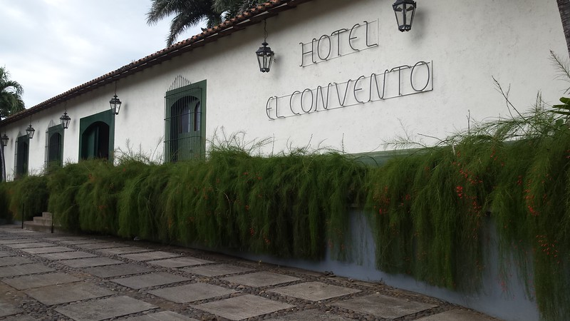 Hotel in old convent where I stayed