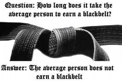 Black Belt Test 5/17/15