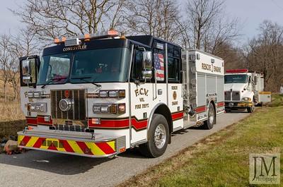01-09-20 Conesville FD - Trailer Fire