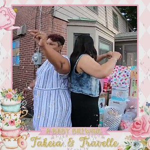 Takeia & Travelle Baby Shower Celebration