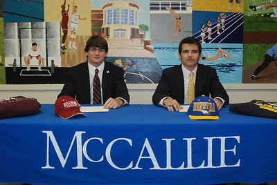 Lacrosse Signing Day - Brier Davis & Cam Linsley