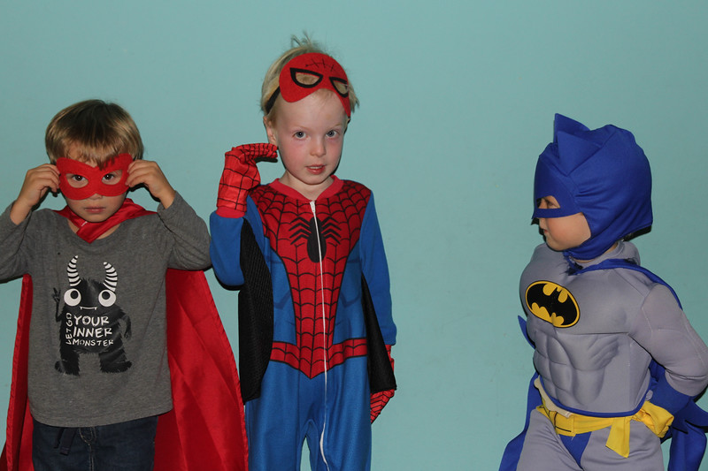 superheroes abound at age 3