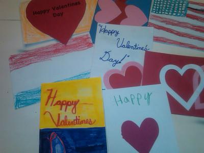 Valentines for Veterans 2012