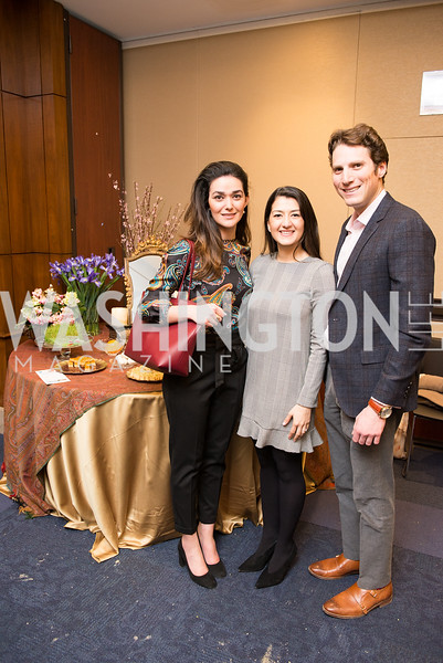 Nazli Karimi, Setareh Ebrahimian, Jeff Robin, Capitol Hill Nowruz Reception, hosted by PAAIA, March 19, 2018, photo by Ben Droz.