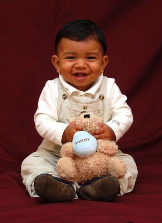 AJ Nine Month Pictures