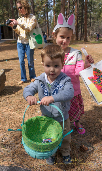 Sisters Easter Egg Hunt 2012