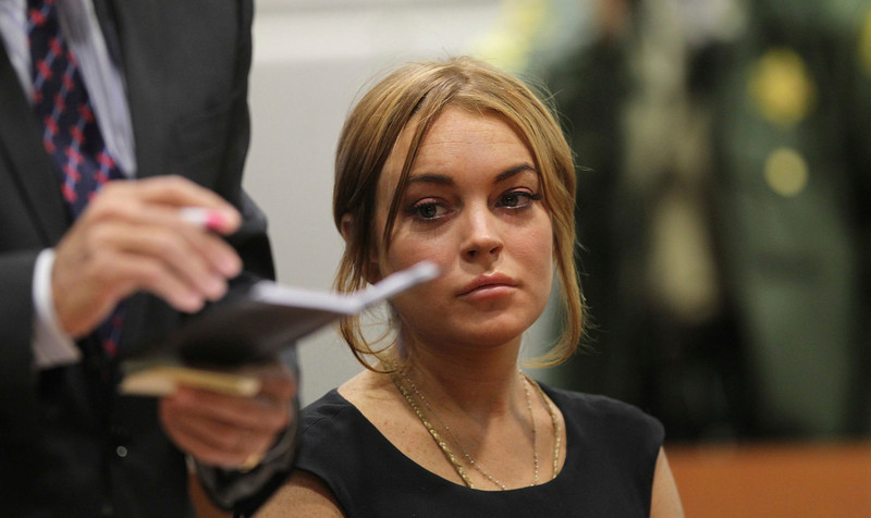 . Actress Lindsay Lohan attends a probation violation hearing at Airport Branch Courthouse in Los Angeles, California January 30, 2013. REUTERS/David McNew/Pool