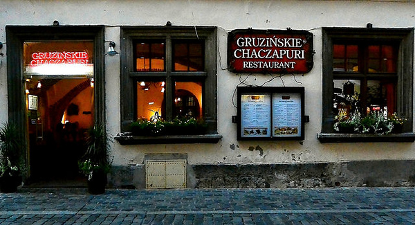 Gruzinskie Chaczapuri restaurant, Kraków. Photo credit: David & Bonnie