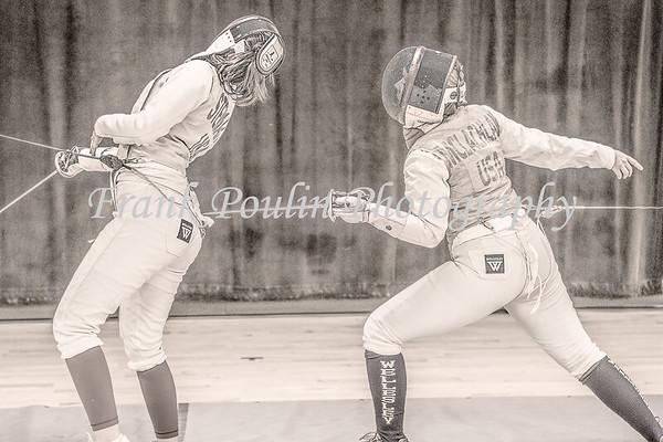 Wellesley College fencing 1/22/2020