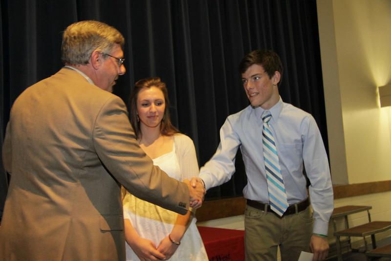 Awards Night 2012 - United States Army Reserve Scholar Athlete Award