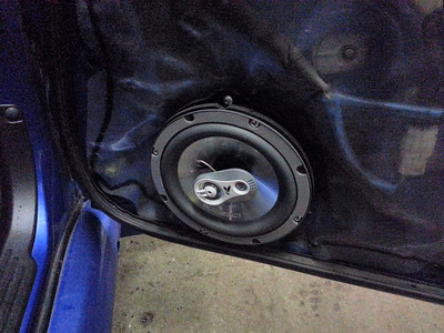 2004 Subaru JDM Impreza WRX STI Front Speaker Installation (imported model) - United Kingdom