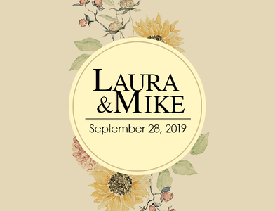 Laura & Mike 2019