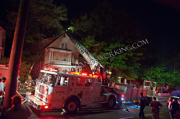 New Haven 2nd alarm 39 Fairfield St dwelling fire